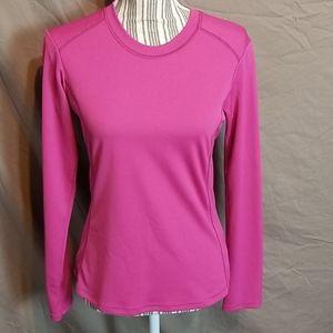 Columbia Pink Quick Dry Long Sleeve Activewear Tee